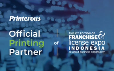 Printerous Menjadi Official Printing Partner Franchise and License Expo 2019