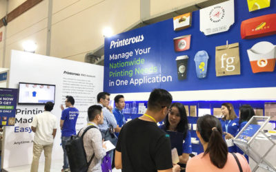 Printerous di Franchise and License Expo Indonesia 2019