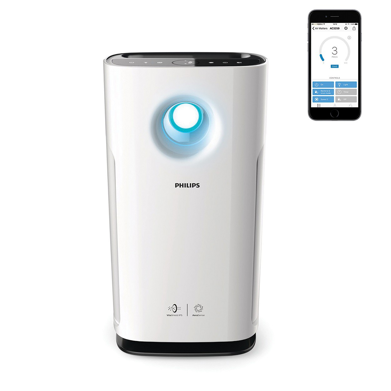 Air Purifier with App connection AC3259