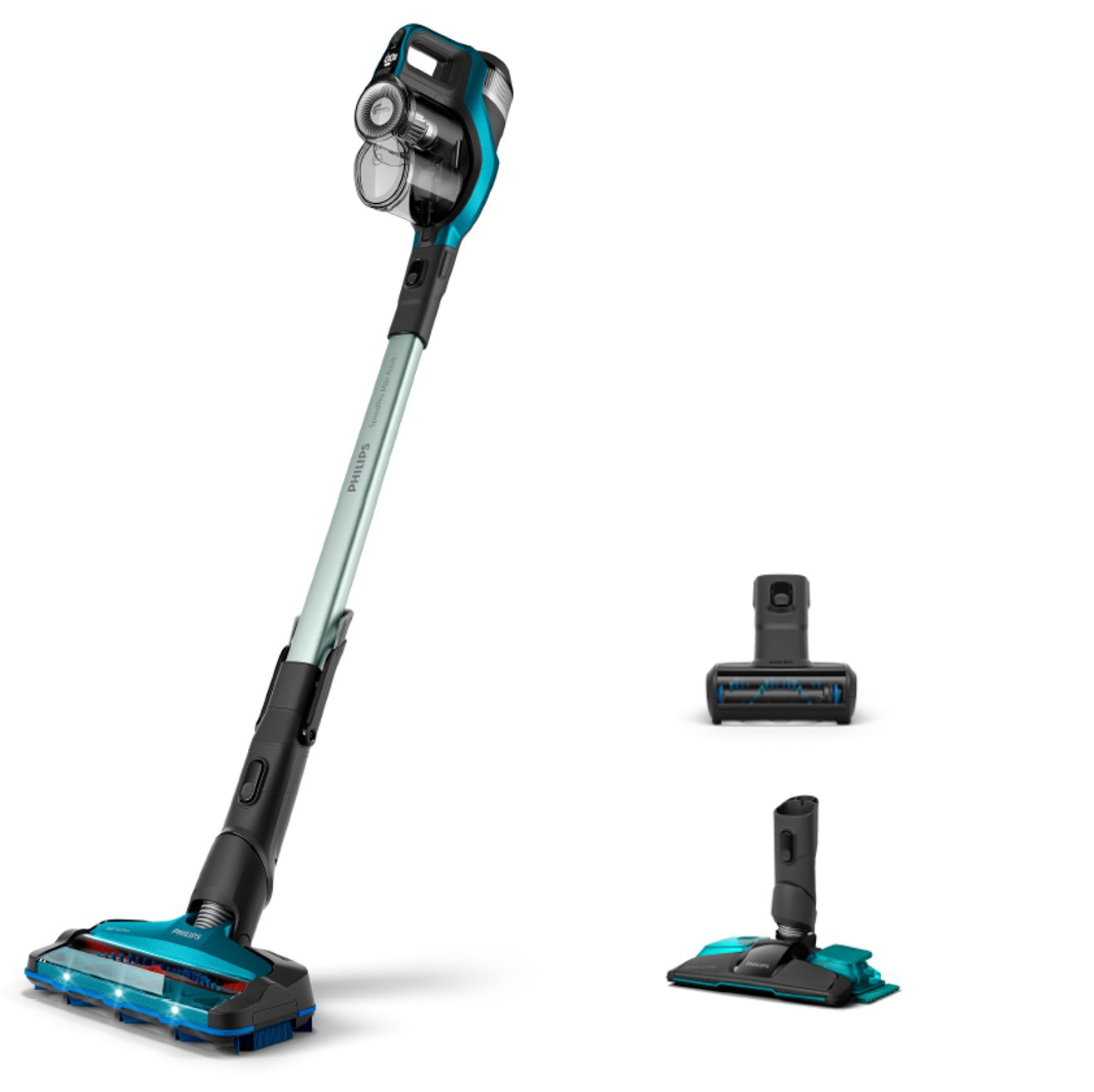 SpeedPro Max Aqua Cordless Handstick Vacuum Cleaner with mopping system FC6904