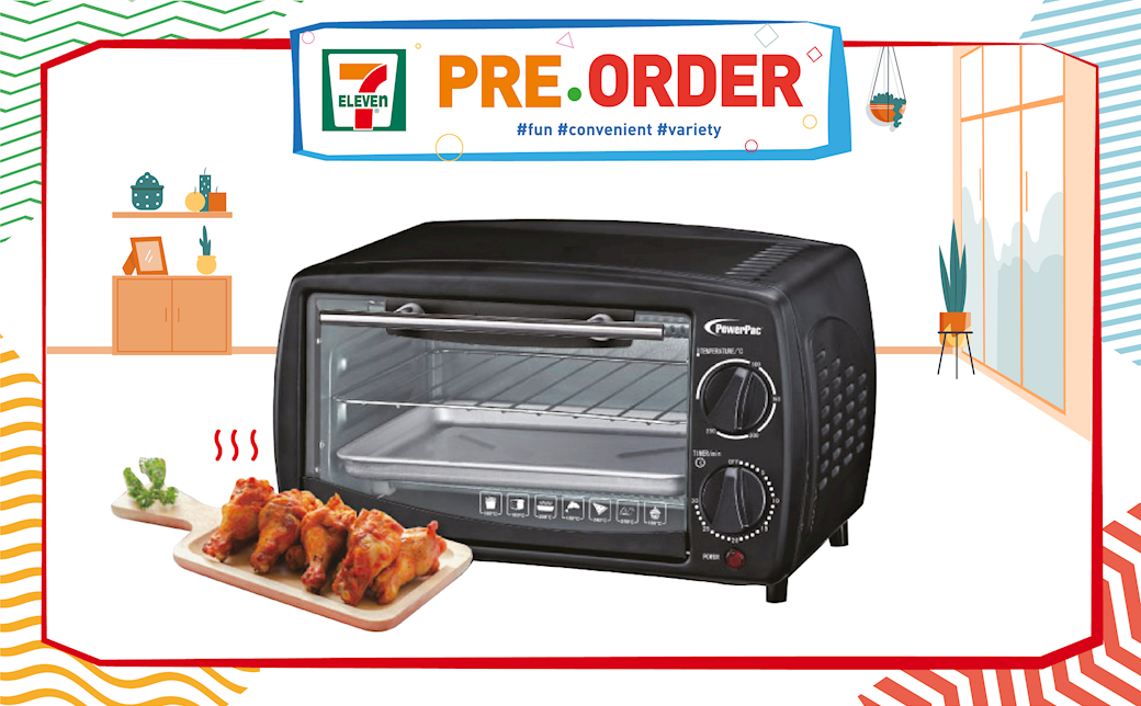POWERPAC OVEN TOASTER - $24