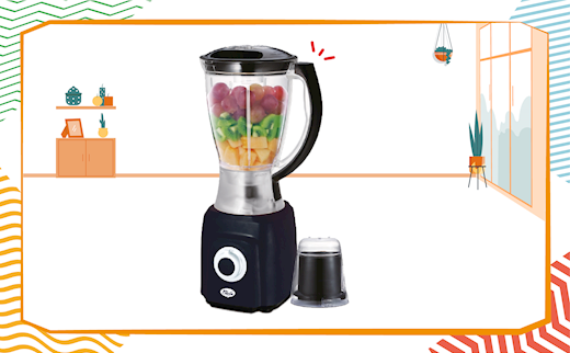 MY CHOICE BLENDER WITH MILL - $27