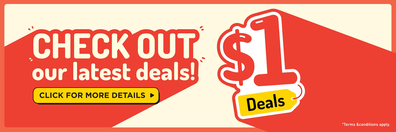 Deals At $1