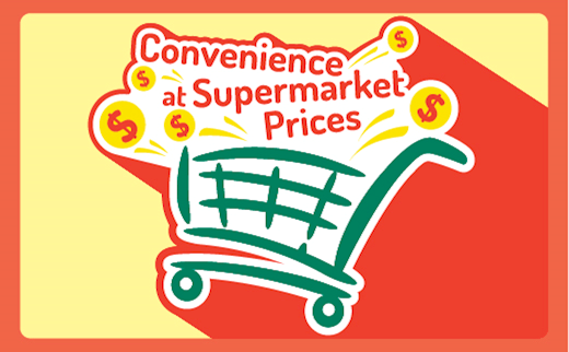 Convenience At Supermarket Prices