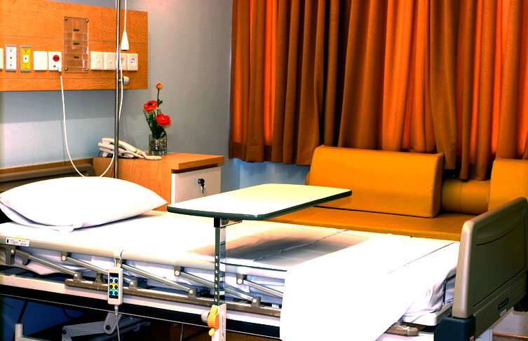 kamar rawat inap standard plus di rs eka hospital. Black Bedroom Furniture Sets. Home Design Ideas