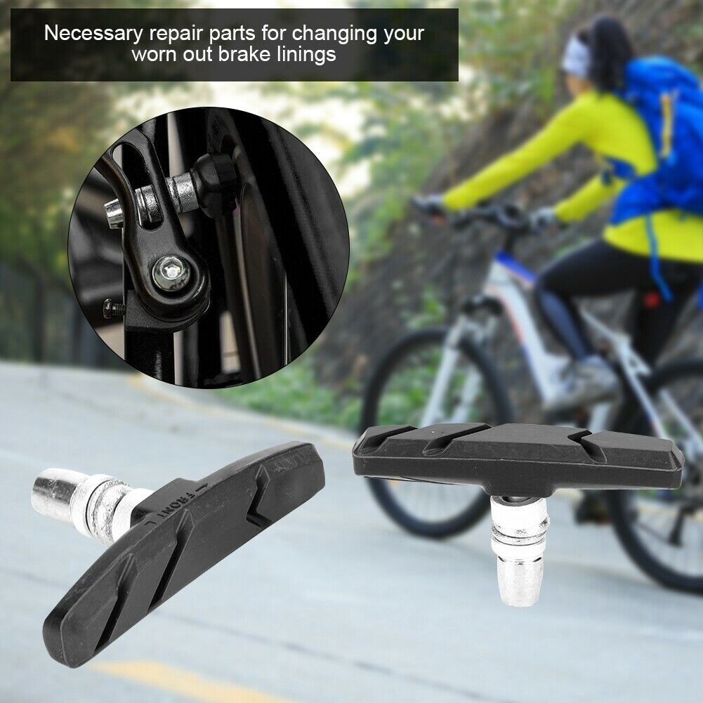 Bicycle Cycling Bike Brake Holder Pads Shoes Blocks Wear-resistant Detachable