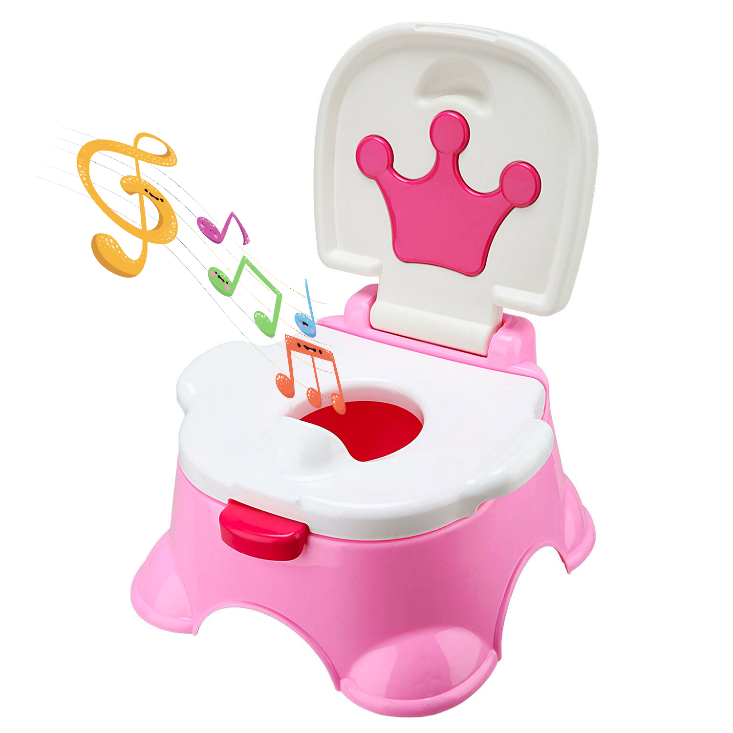 Strong Baby Fun Training Toilet Kids Child Children Potty Trainer Seat Urinal