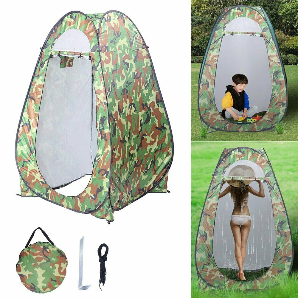 Details about  /Portable Changing Room  Tent Instant Shower Toilet Shelter Bag Outdoor