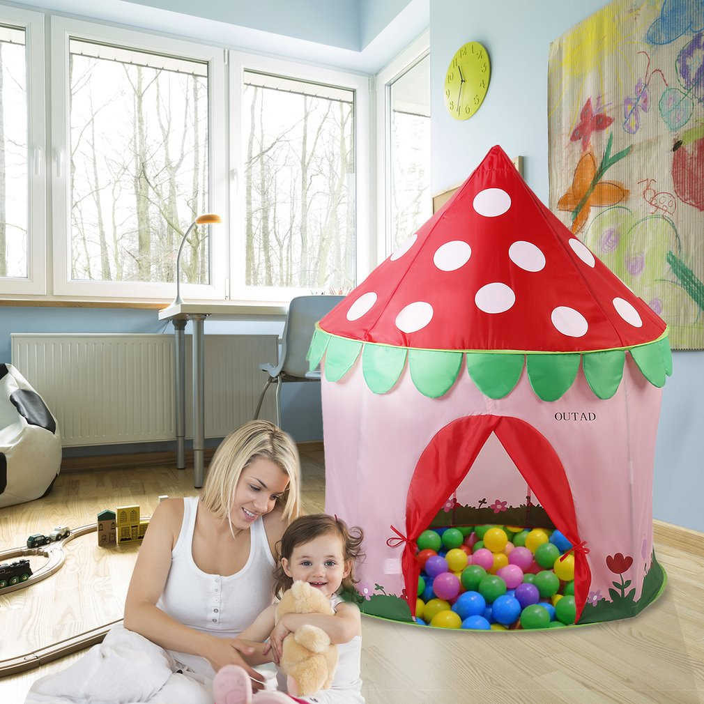 Kids Tunnel Indoor /& Outdoor Play Toy Cubby Pop-up Developmental 4 Way Game-house Childrens favorite Crawl Discovery Pavilion Tent.