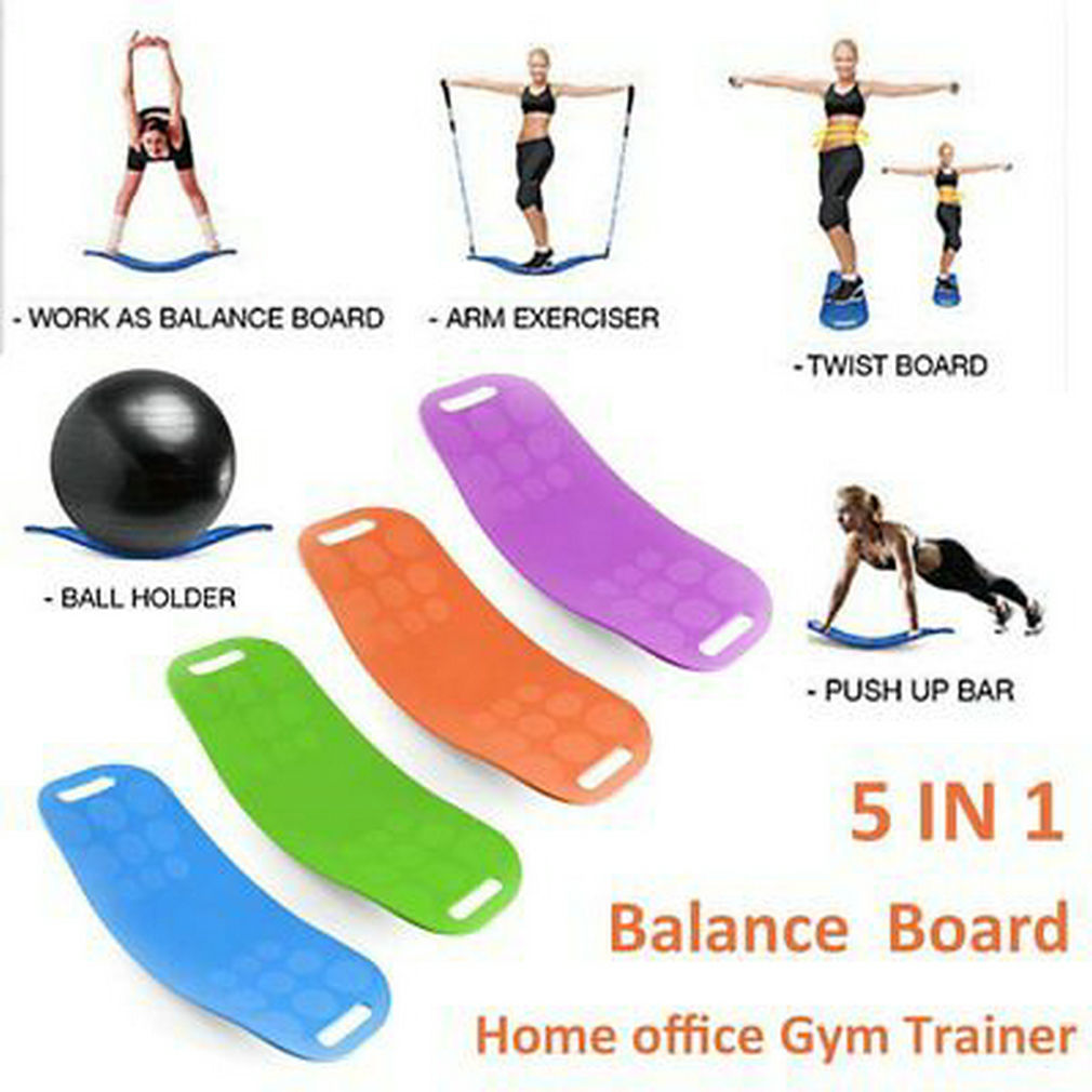 Fit Balance Board WORKOUT BOARD Fitness Balancetrainer Yoga Sport Pilates