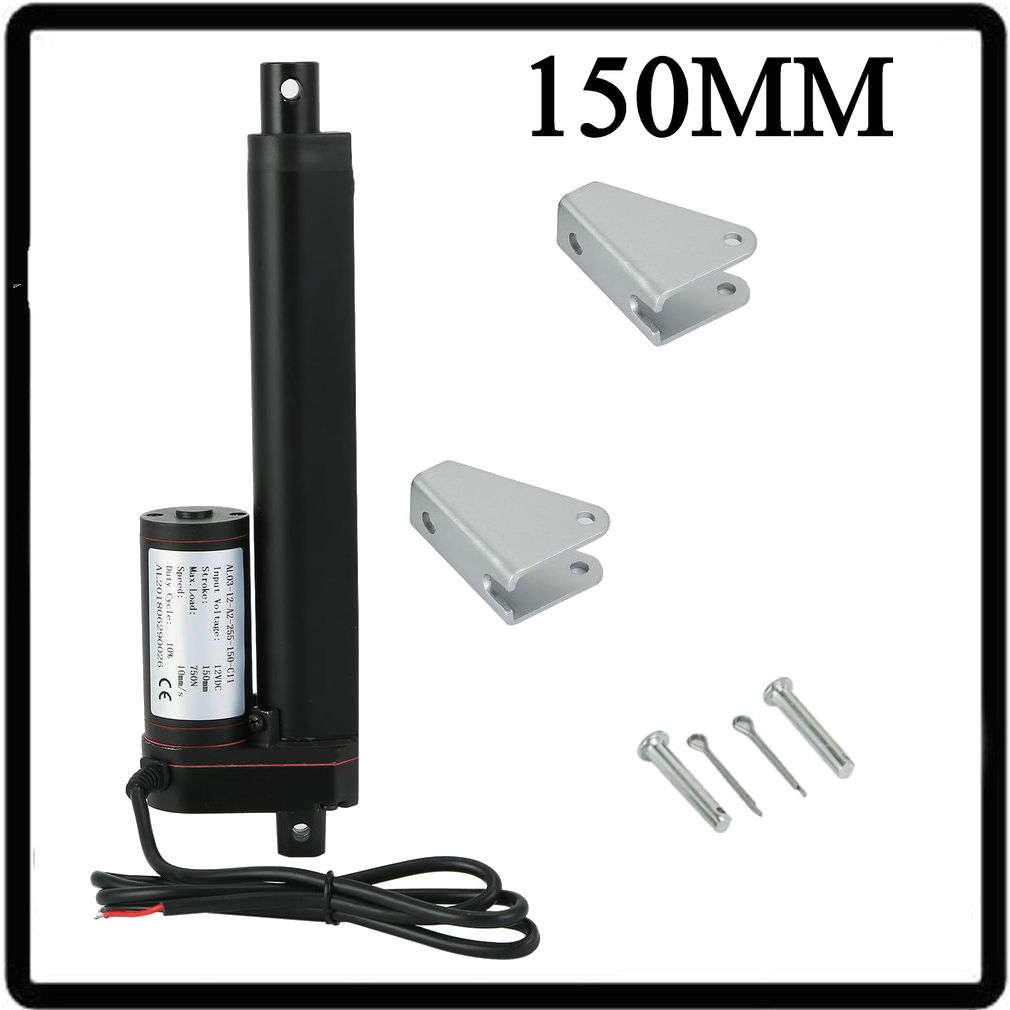 4/'/' DC 12V 750N Heavy Duty Linear Actuator Electric Motor for Medical