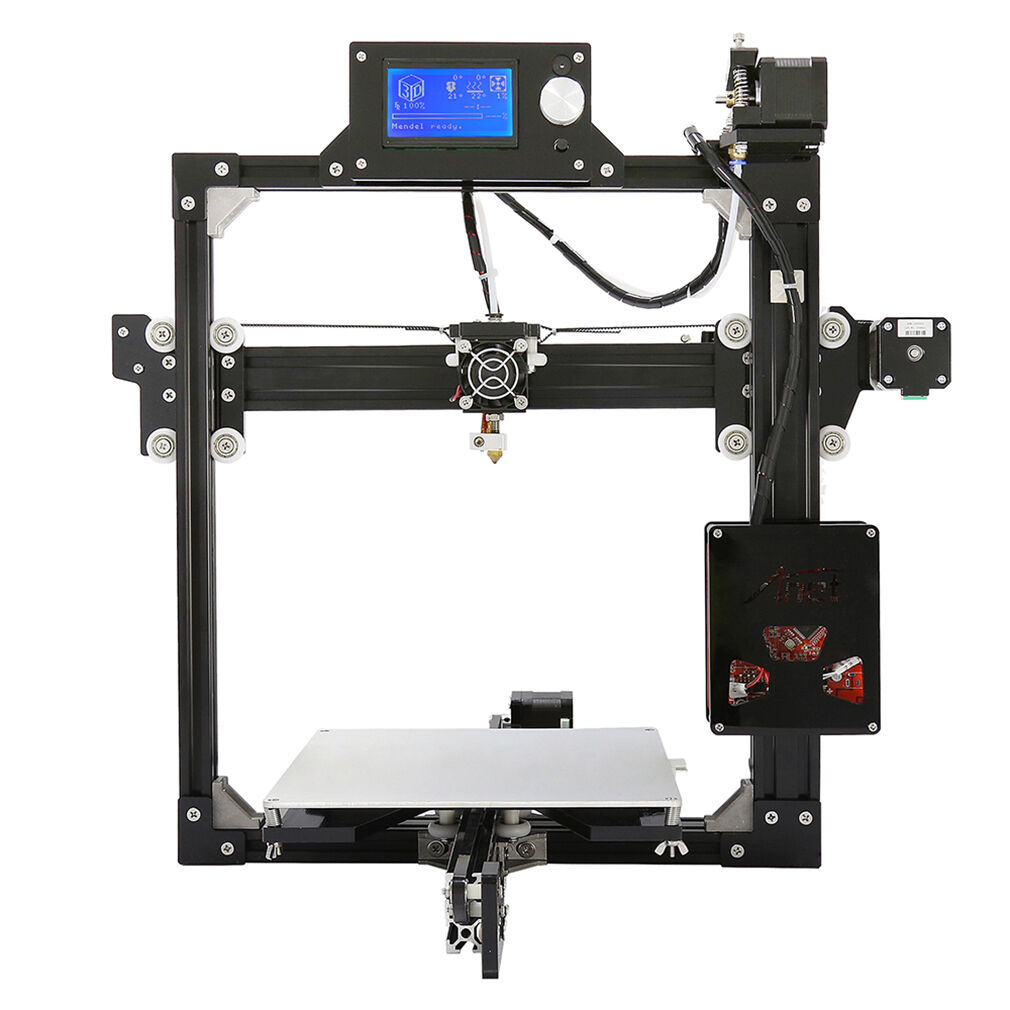Anet A6 3D Printer i3 DIY Kit Large Printing With Auto Leveling LCD Screen BT
