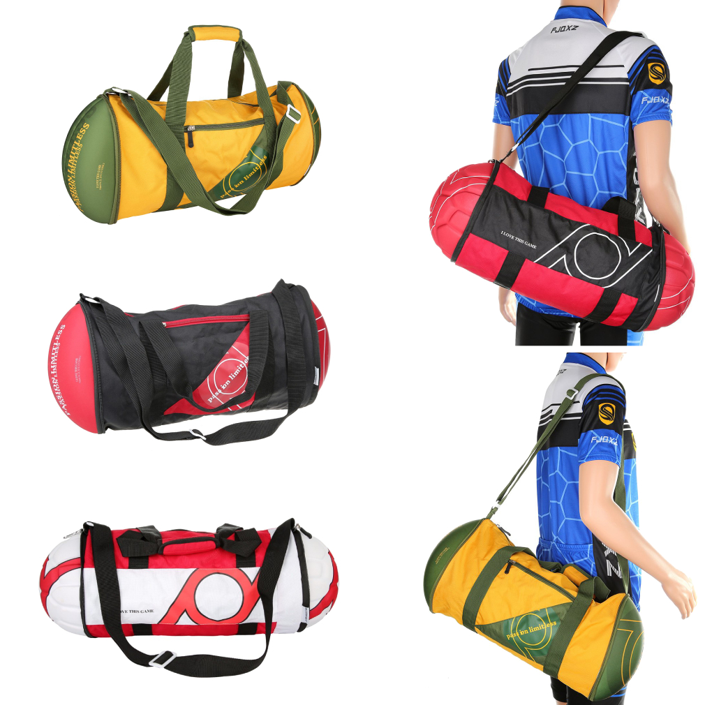Travel Luggage Duffle Bag Lightweight Portable Handbag American Football Rugby Large Capacity Waterproof Foldable Storage Tote