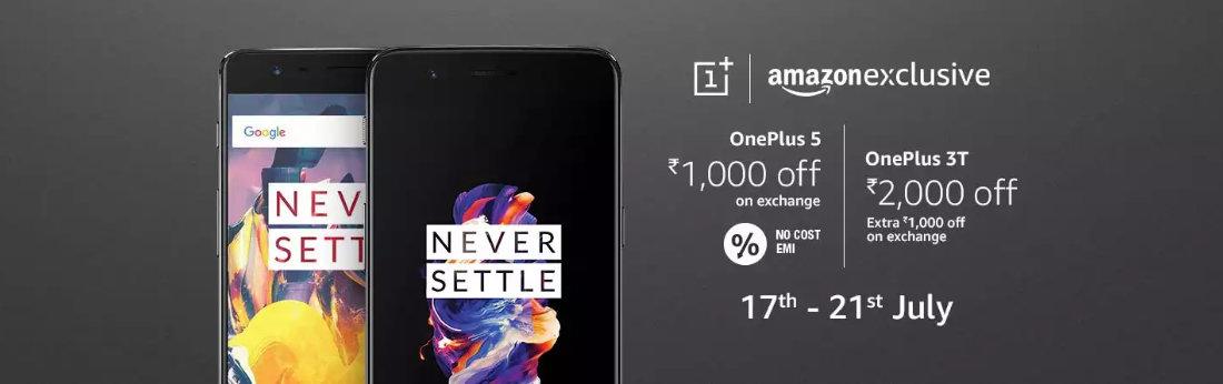 OnePlus : Upto 2,000 off