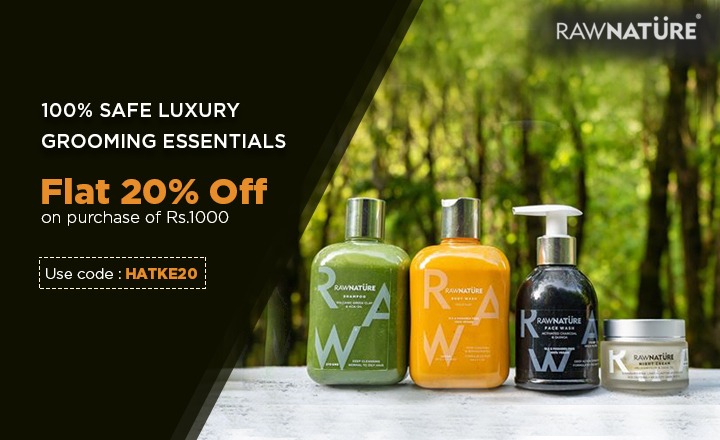Experience all Natural skin Nourishment with Raw Nature