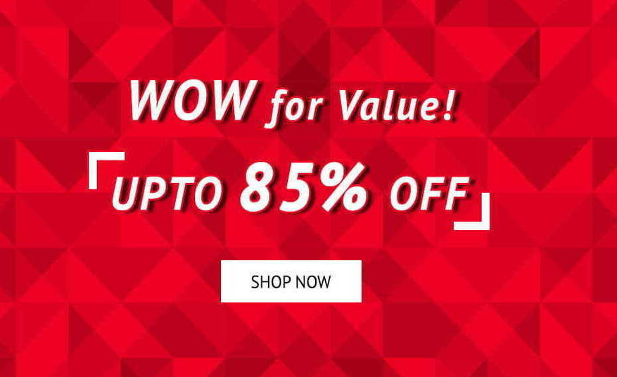 Shoppers Stop Offer: Upto 85% off + 10% Cashback on Axis bank Credit/Debit Card