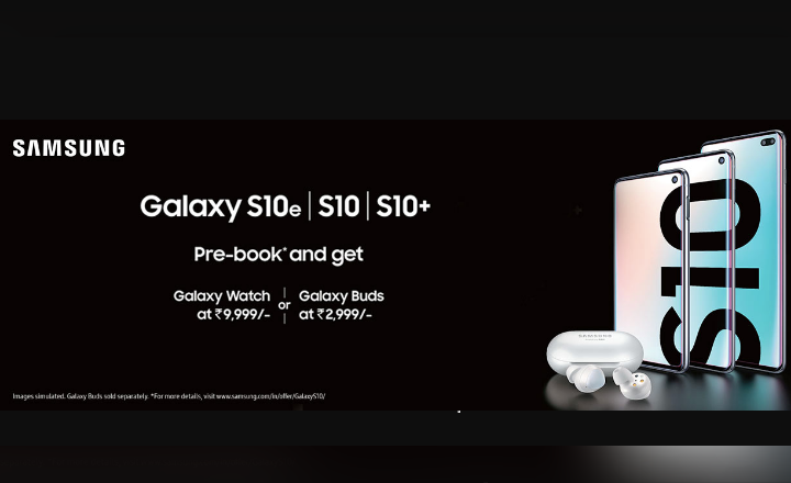 Pre Order Samsung S10e | S10 | S10+ now & get 6,000 Cashback + Galaxy Buds for 2,999 only