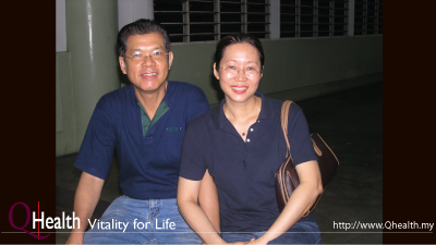 QHealth: Vitality for Life is the passion of Giap and Bee Bee. Image 63A. Image size:400x225px