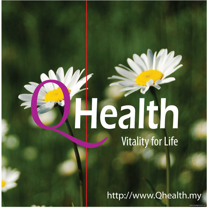 Branding Logo Design for QHealth. Square Format. Image 4A. Image size:400x400px