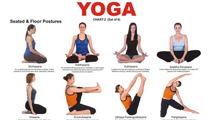 Reducing Stress with Yoga Helps Lower Blood Pressure And Prevents Heart Disease. Image Size:720x405px