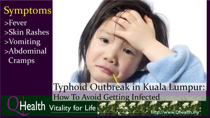 Typhoid Outbreak in Kuala Lumpur: How To Avoid Getting Infected. Image 1A. Image size:720x405px