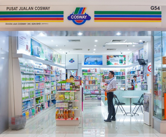 Cosway Store. Image size:560x462px