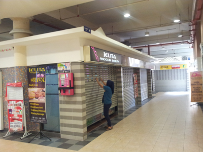 These shops on Level UG are located along the route from LRT station direct to UTC Keramat Mall. These shops are perfect for Cosway Store. Image size:400x300px