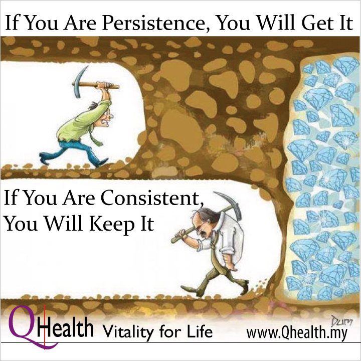 With Persistence, You will get it. Image size:720x720px