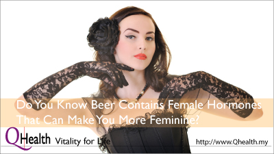 Do You Know Beer Contains Female Hormones That can Make You More Feminine?. Image Size:400x225px