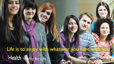 LIFE is to enjoy with whatever you have with you. Image Size:400x225px