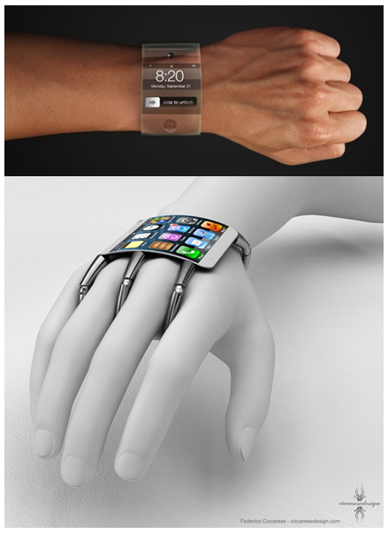 Wearable Fitness Tech Devices. Image 3A. Image size:469x603px