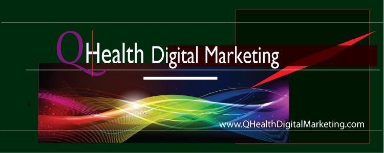 QHealth Digital Marketing Brand General. Image size:750x300px