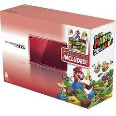 3DS Red w Super Mario 3D Land Console Bundle (US Set)