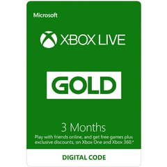 Xbox Live Gold 3 Month Subscription SG