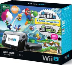 Wii U 32GB Mario & Luigi Console Bundle