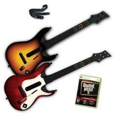 Guitar Hero 5 Guitar Limited Edition Double Pack Bundle