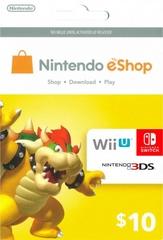 Nintendo eShop Prepaid Card (USD10)