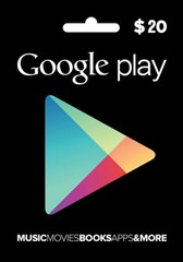 Google Playstore Gift Card (USD20)