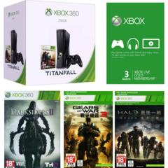 Xbox 360 250GB Console Titanfall Bundle