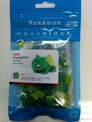 Pokemon x Nanoblock (Bulbasaur)