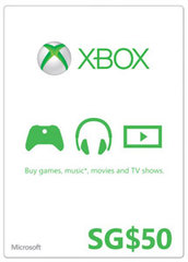 Xbox Gift Card (SGD50)