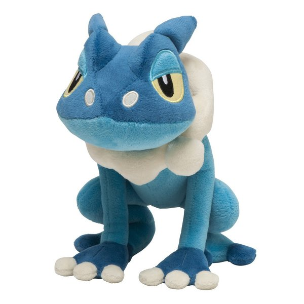 Pokemon Center Frogadier Plushie