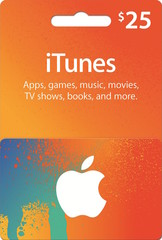 iTunes Gift Card (USD25)