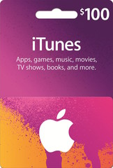 iTunes Gift Card (USD100)