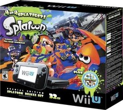 Nintendo Wii U 32GB Console Splatoon Special Edition Bundle