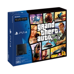PlayStation 4 Grand Theft Auto V Classic Bundle Pack