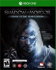 Middle Earth Shadow of Mordor Game of the Year