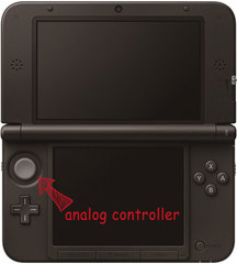 3DS XL Analog Controller Repair Service