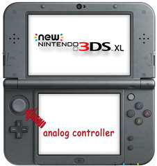 New 3DS XL Analog Controller Repair Service