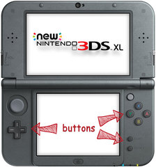 New 3DS XL Button Repair Service